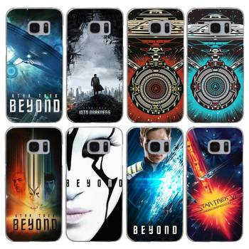H256 Içine Star Trek Darkness Şeffaf Sert PC Case Kapak Samsung Galaxy S Için 3 4 5 6 7 8 Mini Kenar Artı Not 3 4 5 8