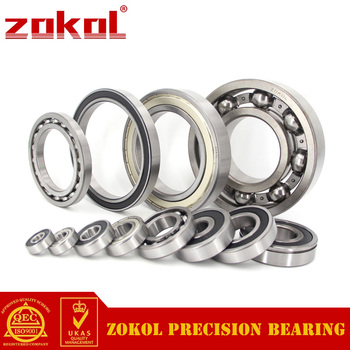 ZOKOL rulman 62/32-2RS 62/32 2RS RS 1802/32 Thickness17mm Derin Groove rulman 32*65*17mm